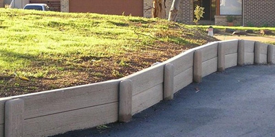 Concrete Products for Landscape Edging & Veggie Gardens