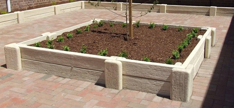 GARDEN BED | 2-HIGH JOINER SYSTEM | SANDSTONE