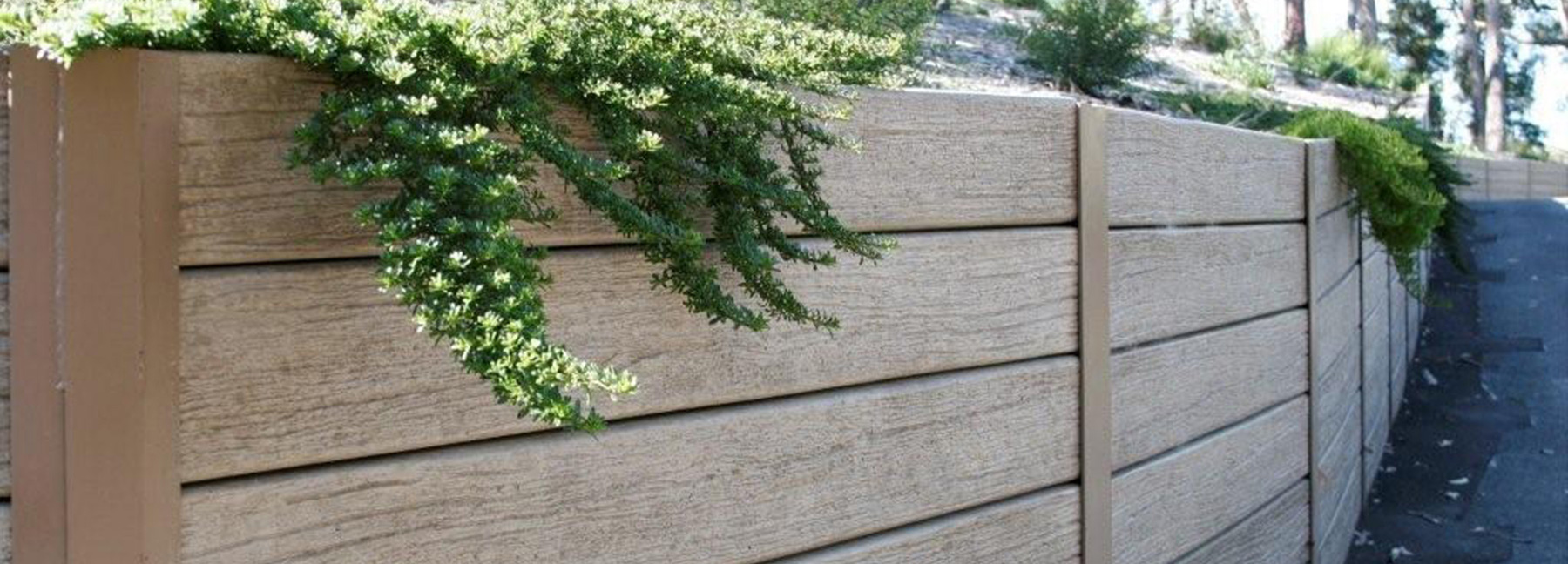 Concrete Sleepers Retaining Wall Products Garden Edging
